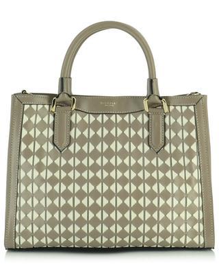 Shopper aus Mosaico-Leder Lorelei Small SERAPIAN MILANO