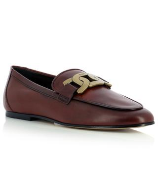 Kate smooth leather loafers TOD'S