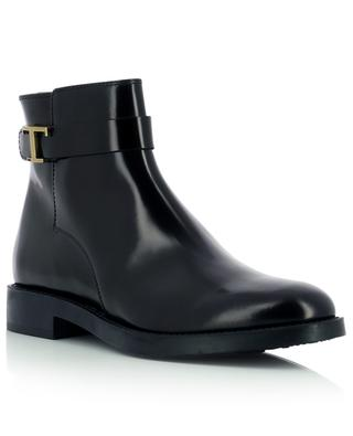 Timeless smooth leather ankle boots TOD'S