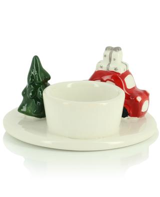 Tea light holder car and Christmas tree KAEMINGK