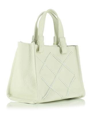 Iconic Loop Cross Mini Tote grained leather bag CALLISTA