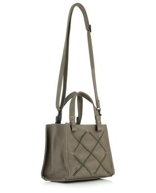 Iconic Cove Loop Cross Mini Tote grained leather bag CALLISTA