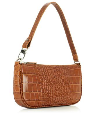 Rachel Tan croc embossed leather shoulder bag BY FAR