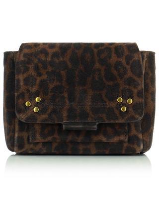 Micro sac en velours léopard Lulu XS JEROME DREYFUSS