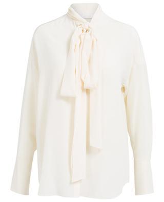 Chemise en soie avec lavallière CHLOE