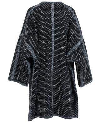 Manteau oversize en laine et cachemire CHLOE