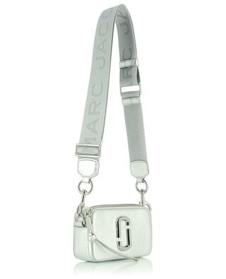 The Snapshot DTM silver saffiano leather cross body bag MARC JACOBS