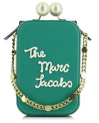 Minihandtasche aus Leder mit Logo The Icing Vanity MARC JACOBS