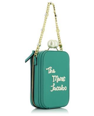 Mini-sac à main en cuir détail logo The Icing Vanity MARC JACOBS