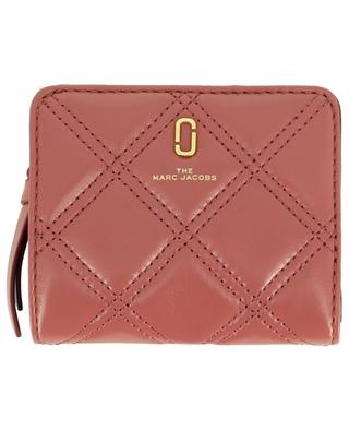 The Softshot small quilted leather wallet MARC JACOBS