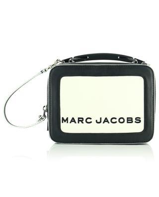 Leather lunchbox style handbag MARC JACOBS