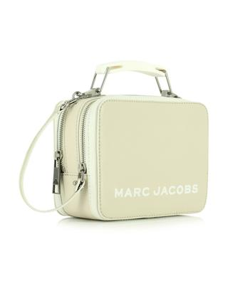 Leather lunchbox style handbag MARC JACOBS