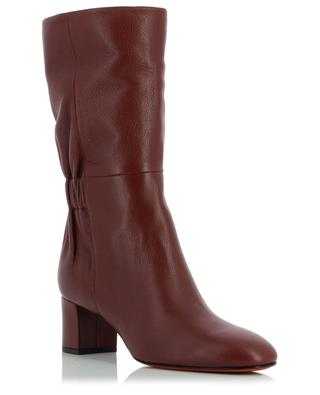 High heel leather boots SANTONI