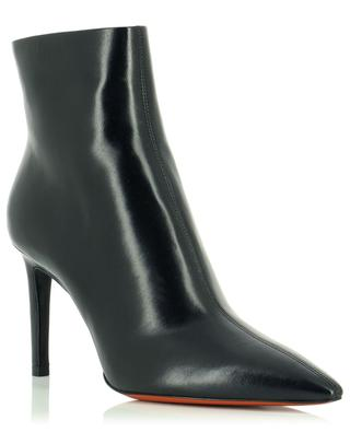 Heeled ankle boots with pointy tips SANTONI