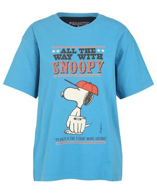 T-shirt oversize imprimé All The Way With Snoopy MARC JACOBS