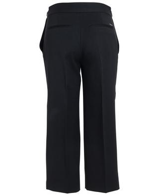 Weite und kurz geschnittene Hose aus Wolle DSQUARED2