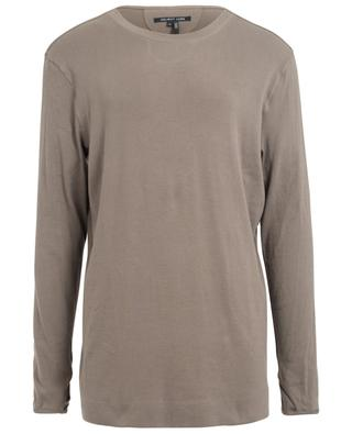T-Shirt aus Baumwolle mit langen Ärmeln HELMUT LANG