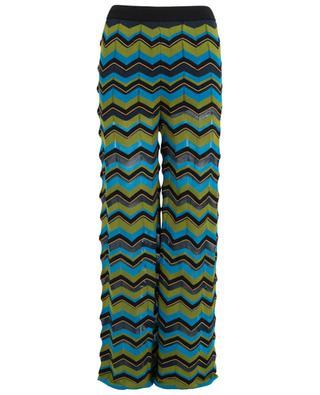Striped wide trousers M MISSONI