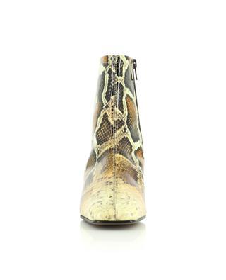 Stiefeletten aus Lackleder in Schlangenoptik Este BY FAR