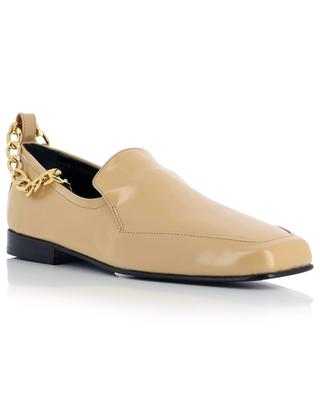 Niki shiny leather loafers BY FAR