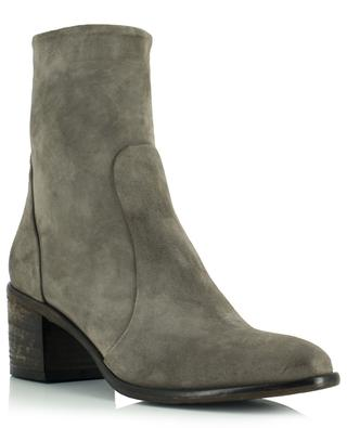 Oliver block heel ankle boots in suede BONGENIE GRIEDER