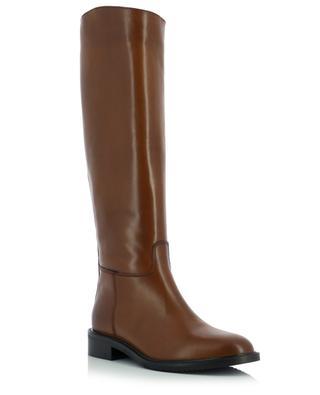 Toffy flat equestrian spirit leather boots BONGENIE GRIEDER