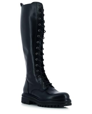 Flat lace-up boots in leather BONGENIE GRIEDER