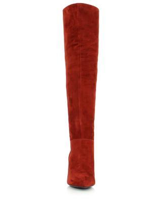 Pointy toe stiletto heel boots in suede BONGENIE GRIEDER