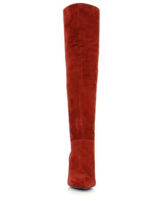 Pointy toe stiletto heel boots in suede BONGENIE GRIEDER