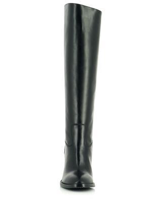 Stiefel mit Blockabsatz aus Glattleder BONGENIE GRIEDER