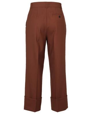 Pantalon raccourci en laine mélangée avec plis THE NEW AMBITION DOROTHEE SCHUMACHER