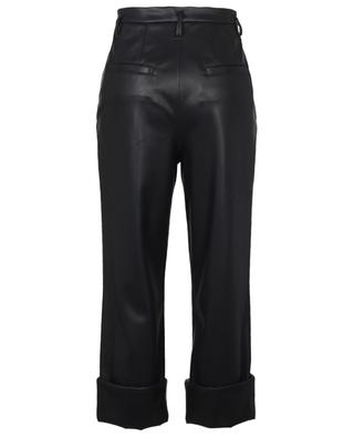 Pantalon raccourci en cuir synthétique SLEEK TAILORING DOROTHEE SCHUMACHER