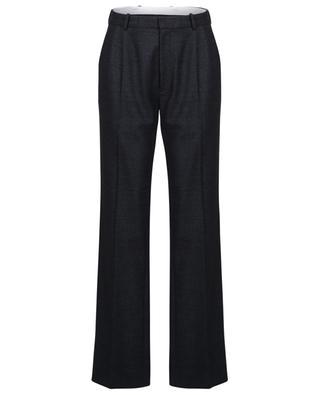 Pantalon large en laine mélangée bouillie Garland JOSEPH