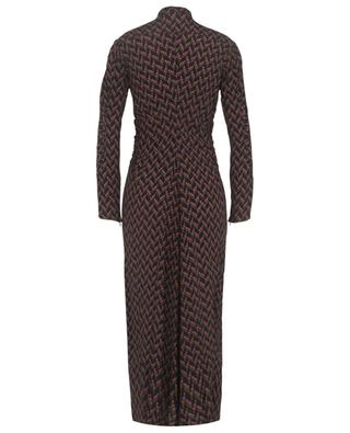 Graphic Power viscose and printed shirt dress DOROTHEE SCHUMACHER
