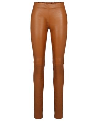 Lambskin stretch leggings JOSEPH