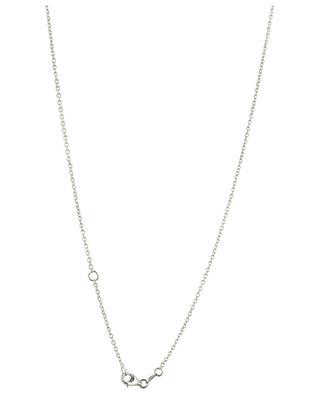 Halskette aus Weissgold mit Buchstaben und Diamant Amour GBYG
