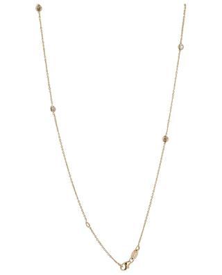 Collier en or jaune avec diamants, topaze, tourmaline Maharadja GBYG