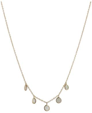 Éclat pink gold necklace with opals GBYG