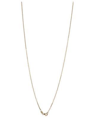 Halskette aus Roségold mit Türkis und Diamanten Arizona GBYG