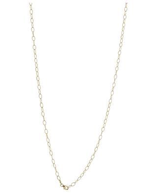 Collier en or jaune avec diamants et malachite Rabat GBYG