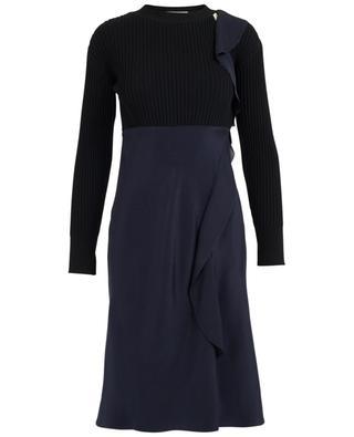 Kleid aus Seide und Wollmischgewebe 3.1 PHILIPP LIM