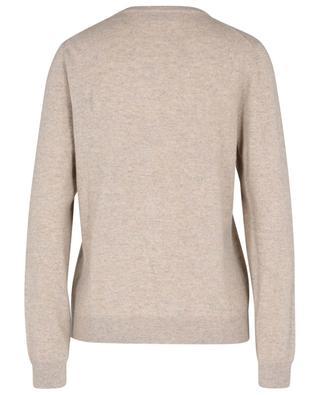 Button-down roundneck cardigan in cashmere BONGENIE GRIEDER