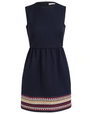 Ärmelloses Kleid mit Stickerei RED VALENTINO