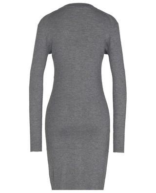 Virgin wool and silk button-up cardigan DOLCE & GABBANA