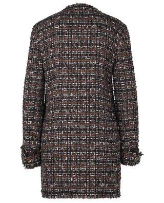 Cotton and wool blend bouclé coat DOLCE & GABBANA
