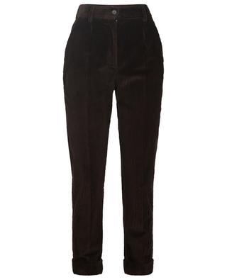 Pantalon raccourci en velours côtelé DOLCE & GABBANA