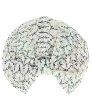 Strick-Turban mit Lurex MISSONI MARE
