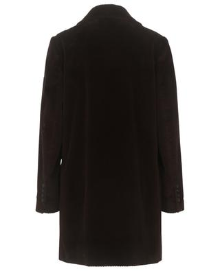 Manteau à boutonnière double en velours côtelé DOLCE & GABBANA