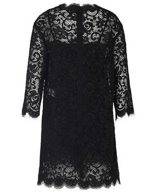 Cotton and viscose blend lace dress DOLCE & GABBANA