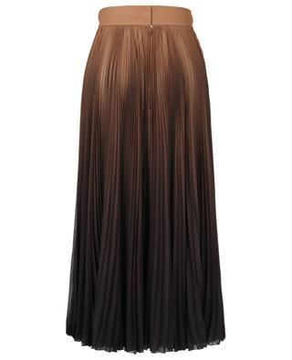Pleated skirt with colour gradient DOLCE & GABBANA